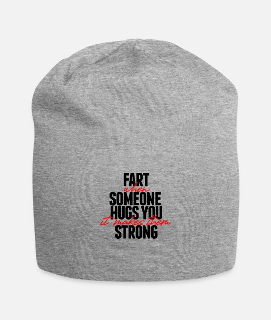 Strong Caps - Farts - Beanie heather gray
