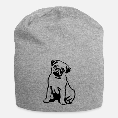 Carlino Pug Dog - Beanie