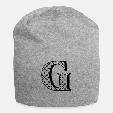 Personalized G Initial - Beanie