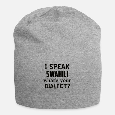 Dialect swahili dialect - Beanie
