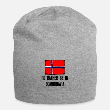 Scandinavia I'd Rather Be In Scandinavia - Beanie