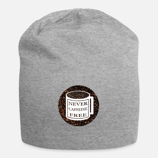 Love Caps - Never Caffeine Free - Beanie heather gray