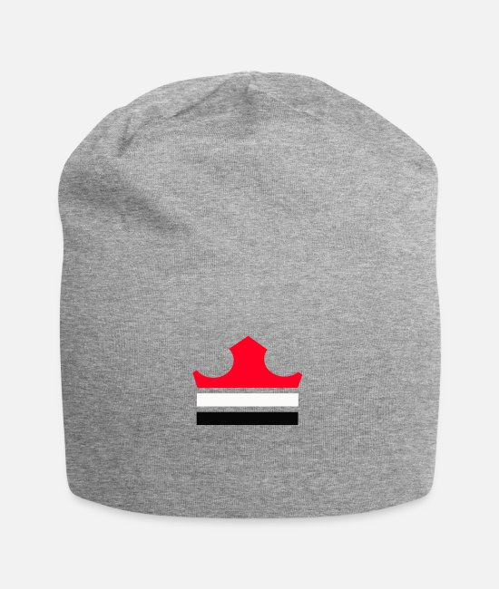 Design Caps & Hats - rectangle shape - Beanie heather gray