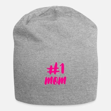 Mom Number One Mom Hot Pink - Beanie