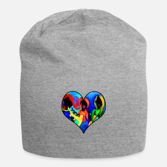 Guitar Player Caps - Sisters of Music - Beanie heather gray