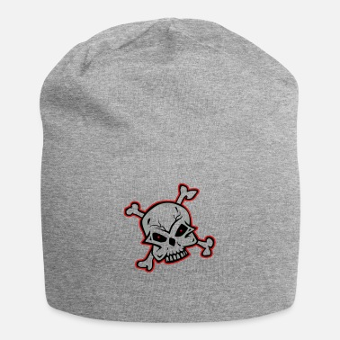Skull skull,skull and bones,tribal,skull ,skulls bone, - Beanie