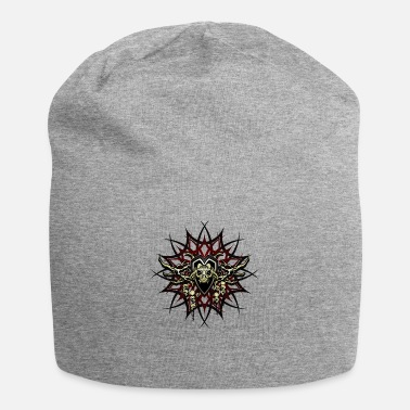 Scary_cult_skulls_and_bones - Beanie