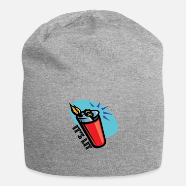 Vibe It's Lit retro lighter - Beanie