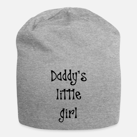 Little Sister Caps - Daddy' little girl - Beanie heather gray