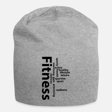 Fitness Fitness words - Beanie