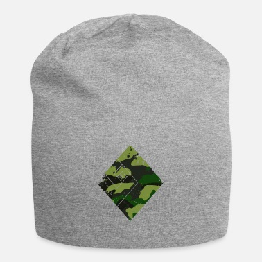 Fashion Square camouflage pattern green - Beanie