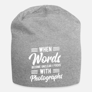 Photoshop Words Unclear Focus With Photography Birthday Gift - Beanie