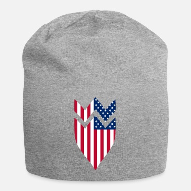 Coat Of Arms Usa USA coat of arms United States flag - Beanie