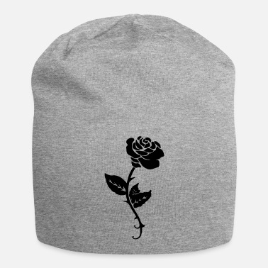 Flowers Rose Vector www.glowingdark.com - Beanie