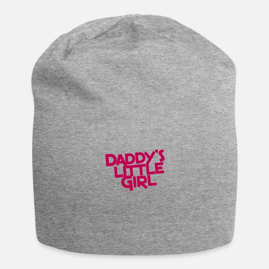Girl Caps - daddy's little girl - Beanie heather gray