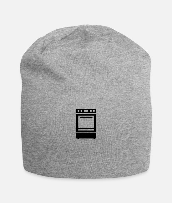 Cookie Caps & Hats - Stove or Cooker - Beanie heather gray