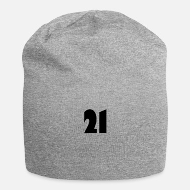 Vector ❤️★Number Twenty-one-Best Jersy Number & Best Age - Beanie