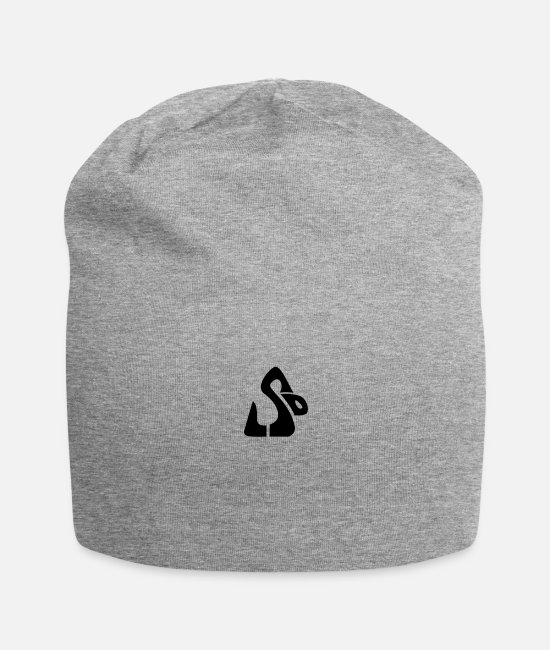 Drug Caps & Hats - LSD Snake__V001 - Beanie heather gray