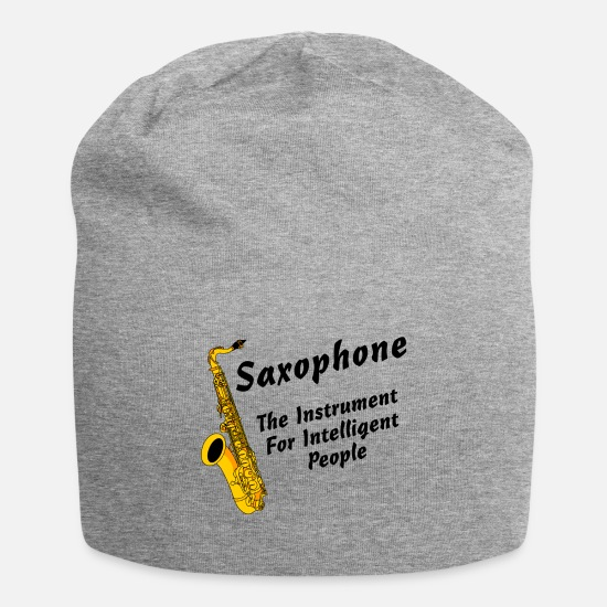 Arrogant Caps - Intelligent Saxophone - Beanie heather gray