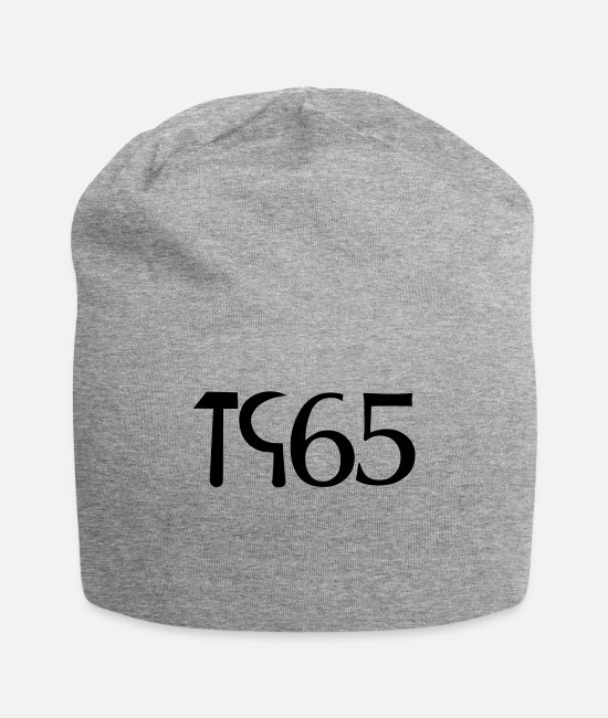 Passed Caps & Hats - Never forget 1965 - Beanie heather gray