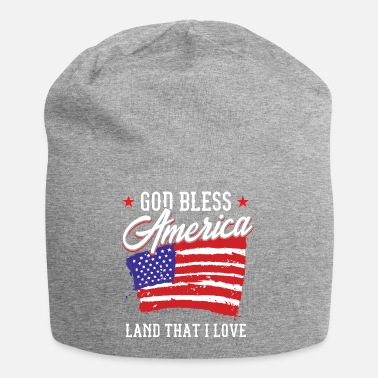 Sam God Bless America Land I Love Patriot Gift Idea - Beanie