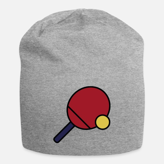 Backhand Caps - Table tennis - Beanie heather gray