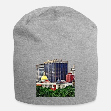Commonwealth Boston MA - Skyline with Massachusetts State House - Beanie