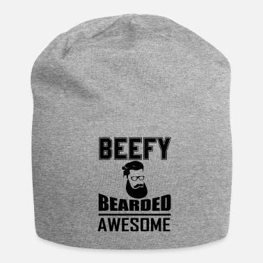 Beefy Beefy Bearded Awesome - Beanie