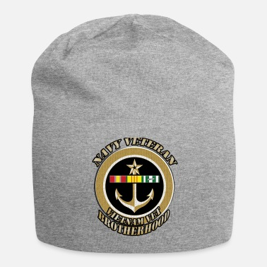 Navy NAVY ANCHOR VIETNAM BROTHERHOOD FRONT300.png - Beanie