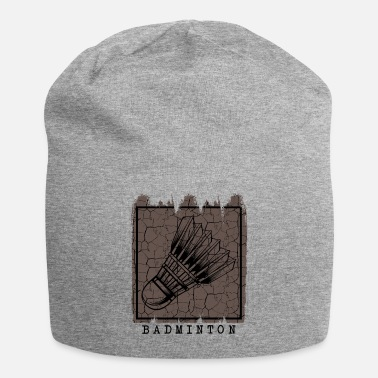Vintage Vintage Retro Style Shuttlecock Badminton Cool 70s - Beanie