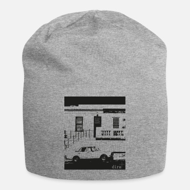 Cape Town dira black and white Bo-Kaap Cape Town T-Shirt - Beanie