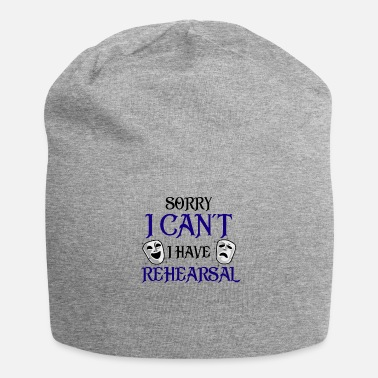 Broadway Funny Rehearsal Shirt. Actor's Gift. Actress Gift. - Beanie