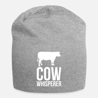 Beef Humor Cow Design Quote Funny Cow Whisperer - Beanie