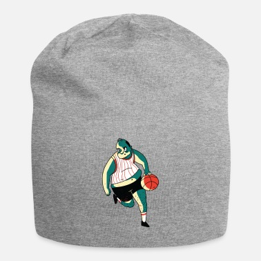 Overweight Overweight Basketball player with funny look - Beanie