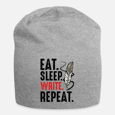 Nib Eat Sleep Write Repeat nib author gift - Beanie