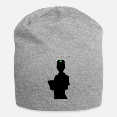 Shamrock St Patricks Day Nurse Nursing Paddys Day Shamrock - Beanie
