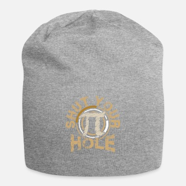 Geometry Funny Shut Your Pi Hole Pi Day 3.14 Funny Math - Beanie