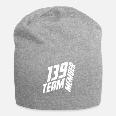 Jersey Number TEAM MEMBER 139 JERSEY NUMBER SHIRT NUMBER - Beanie