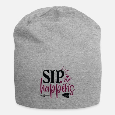Mugs-cups Wine Lover sip happens - Beanie