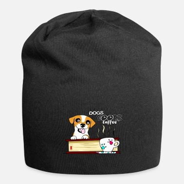 Dogs books and coffee - Beanie