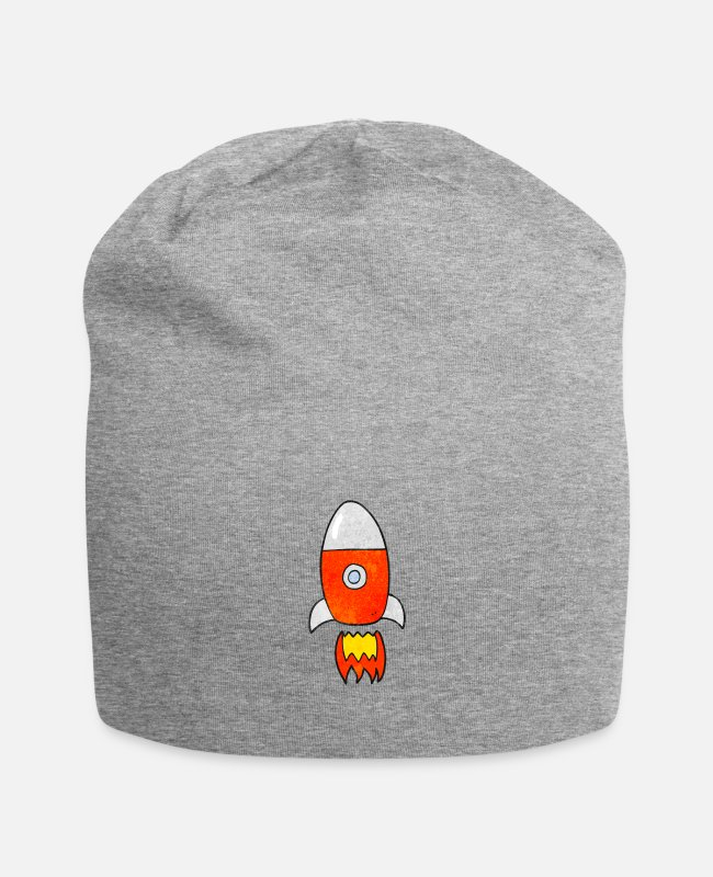 Spaceman Caps & Hats - Rocket - Beanie heather gray