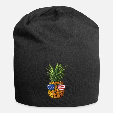 Pineapple And Soccer Pineapple Sunglasses 4th of July Men Women shirt - Beanie