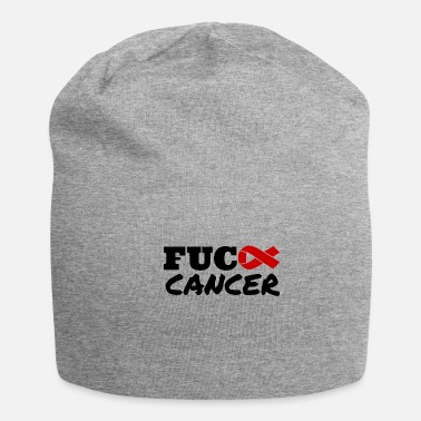 Funny Breast Cancer Fuck Cancer Cancer Research Importance - Beanie