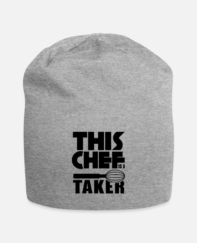 Occupation Caps & Hats - This Chef Is A Taker - Beanie heather gray