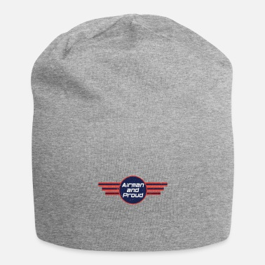 Numbered Air Force Airman And Proud - Air Force - Beanie