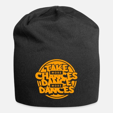 Hip Dance Dancing Life Opportunity Orange Cool Gift - Beanie