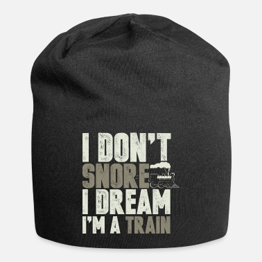 Steaming Trains Locomotive Steam Engine Driver Funny Gift - Beanie