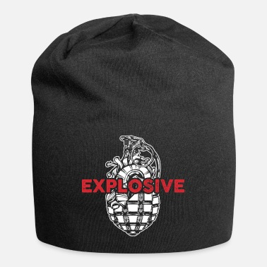 Explosion Explosive Grenade Explosion Weapon Cool Gift - Beanie