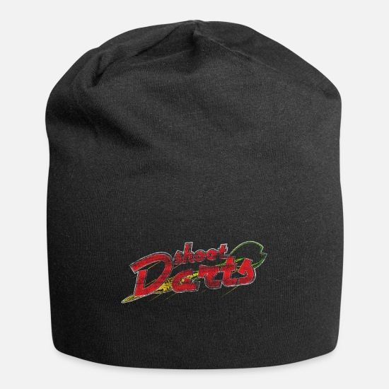 Christmas Caps - Darts team gift idea - Beanie black