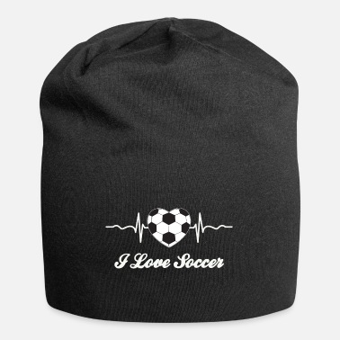 I Heart Football I love soccer game - Beanie